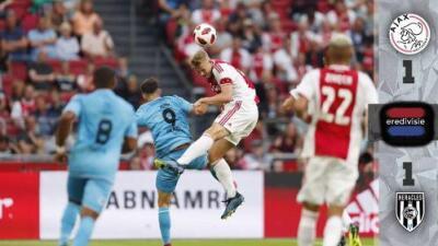 El Ajax, con suplentes, iguala 1-1 ante el Heracles pensando en Standard de 'Memo' Ochoa