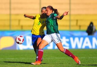 En fotos: México saca su casta para vencer 1-0 a Brasil en el Mundial Sub-17 femenino