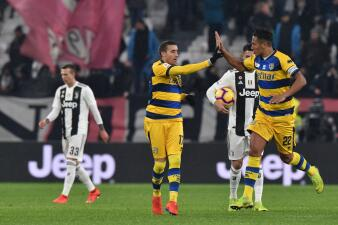En fotos: Juventus no pudo transformar su dominio en triunfo y Parma le empató 3-3