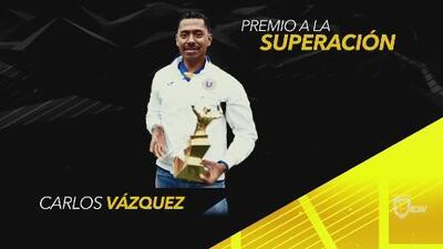 Carlos Vázquez, reconocido con el Premio a la Superación