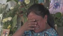 """""""Señora, le mataron a su hijo"""": madre narra entre lágrimas cómo se enteró de la masacre en Tamaulipas"""