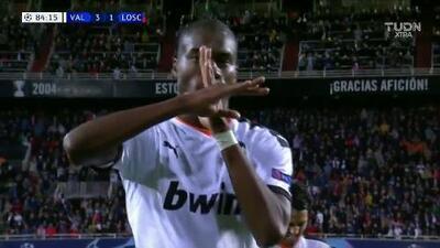 Kondogbia puso el tercero para el Valencia