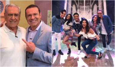 En fotos: los secretos de Eric del Castillo y la música de Mix5 alegraron Despierta América