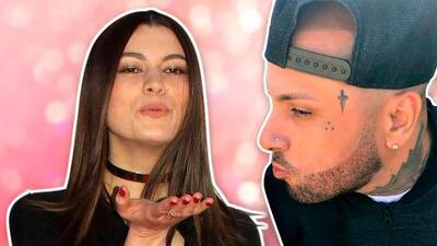 Natália Subtil besa a Nicky Jam y cuenta cómo fue