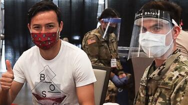 Jugadores de Atlanta United y Houston Dynamo se vacunan por COVID-19