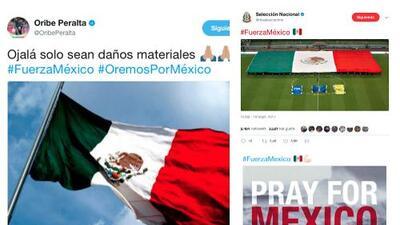 El deporte se une para ayudar a México tras el terremoto que lo devastó