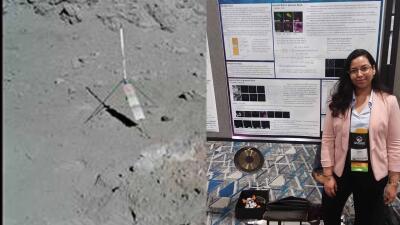 En fotos: Estudiante hispana encuentra nuevo compuesto en muestras de polvo lunar
