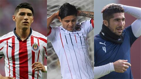 Alan Pulido, la 'Chofis' López y Jair Pereira, ¿ya cumplieron su ciclo con Chivas?