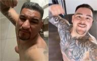 Rival de Andy Ruiz se mofa con selfie sobre un inodoro
