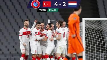 Holanda inicia camino a Catar con decepcionante derrota