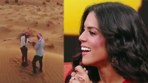 Exclusiva: el video de la pedida de mano de Francisca Lachapel en el desierto
