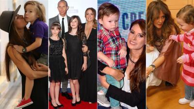 Las fotos más bellas de Galilea Montijo y Andrea Legarreta con sus hijos