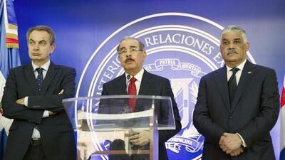 Gobierno venezolano y oposición no llegan a un acuerdo en República Dominicana