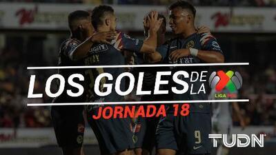 Revive los goles de la Jornada 18 del Apertura 2019