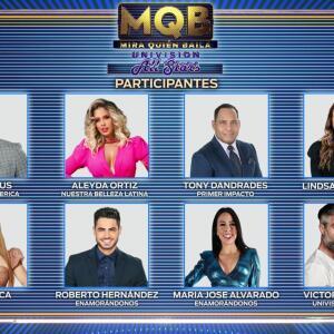 Además de Chef Yisus y Aleyda Ortiz, se revela el elenco completo de famosos que participarán en Mira Quién Baila