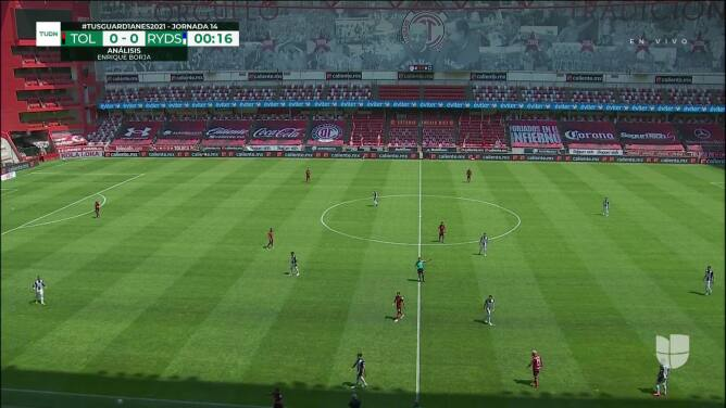 Resumen del partido Toluca vs Monterrey