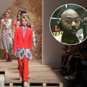 """""""De la cintura para arriba"""" Brea y Shino quieren ayudar a planear el NY Fashion Week en medio de la pandemia"""
