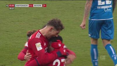 Contragolpe vertiginoso y doblete de León Goretzka ante el Hoffenheim