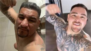 Rival de Andy Ruiz se burla del 'Destroyer' con selfie en el baño