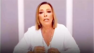 Video: Sylvia Pasquel reacciona a los escándalos que salpican a su familia