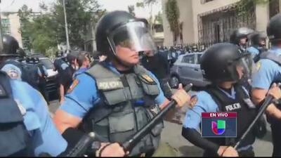 Manifestación en el Día Internacional de los Trabajadores deja arrestos y enfrentamientos