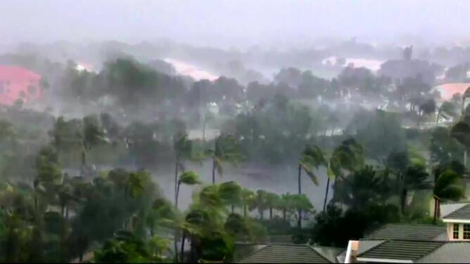Todo lo que vivió la Florida durante el paso del huracán Irma