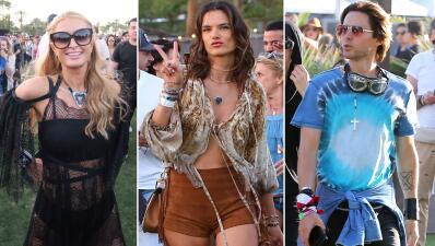 Celebridades de fiesta en Coachella 2016