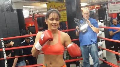 La 'Rusita' Rivas está motivada por enfrentar a la puertorriqueña Amanda Serrano