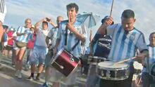 Así vivió la afición argentina los momentos previos al encuentro contra EEUU