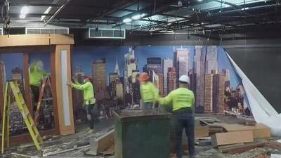 Noticias Univision 41 se prepara para estrenar su nuevo 'look' y así fue el detrás de cámaras de la transformación