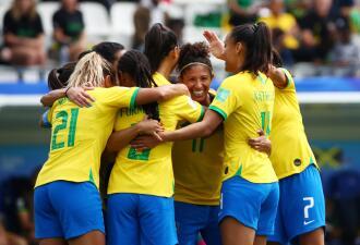 En fotos: Cristiane se luce con triplete en triunfo de Brasil contra Jamaica en el Mundial