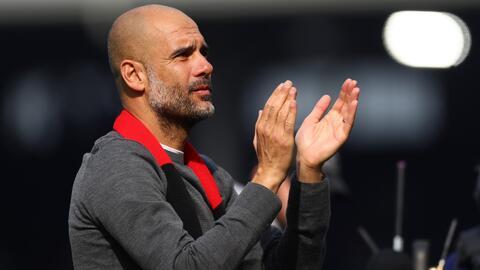 Pep Guardiola enfatiza en que sus jugadores están concentrados en ganar la Premier League