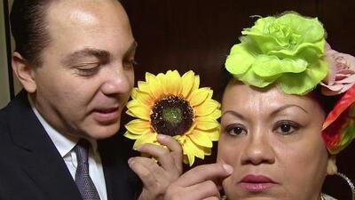 ¡Qué coqueto! Cristian Castro puso de todos colores a Boquita
