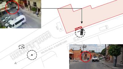 Reconstrucción gráfica del asesinato de Isaías Gómez, la pareja de Sharis Cid