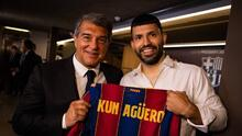 """Agüero: """"Espero podamos jugar juntos con Messi, creo que seguirá"""""""