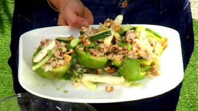 Deliciosa, saludable y para nada aburrida: receta de 'Ensalada de cangrejo, pepino y jícama'