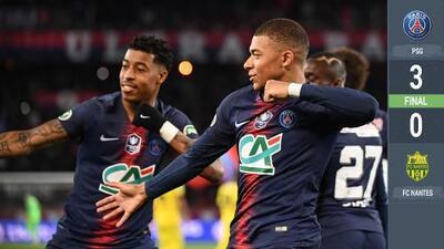 Dedicado para ti, 'O Rei' Pelé: Mbappé guía al PSG en victoria de Copa francesa