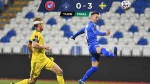 Con asistencia de lujo, Zlatan encaminó triunfo de Suecia en Kosovo