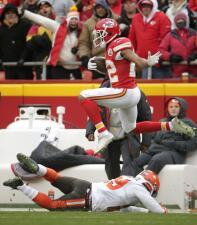 Las mejores imágenes del Cleveland Browns - Kansas City Chiefs