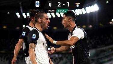 La Juventus venció a la Lazio y ya 'saborea' el título