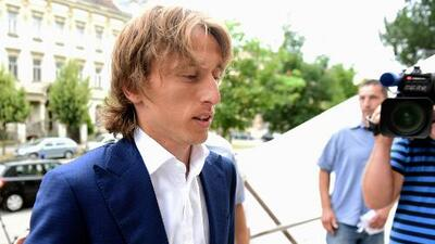 Luka Modric declara en juzgados por supuesto fraude fiscal