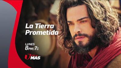 Josué llega a Unimás para continuar su lucha por 'La Tierra Prometida', síguela este lunes desde el primer capítulo