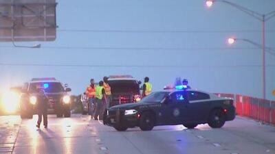 Dos personas muertas y 11 heridas, el saldo de un accidente en la autopista I-95 de Miami