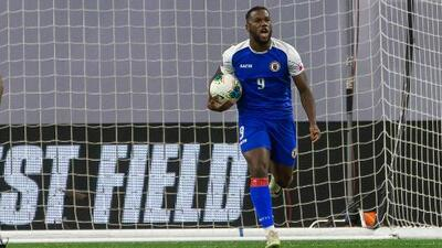 Duckens Nazon, el estandarte de la Selección de Haití para enfrentar a México
