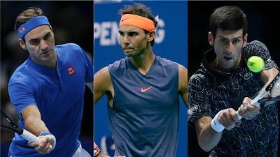 Federer, Nadal y Djokovic; una dinastía sin fin en la edad dorada del tenis