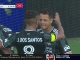 ¡Gol de Chicharito! Javier Hernández pone el 1-1 para Galaxy