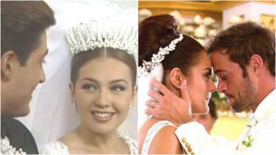 Eduardo Yáñez, Adela Noriega y todos los famosos que solo se han casado en telenovelas