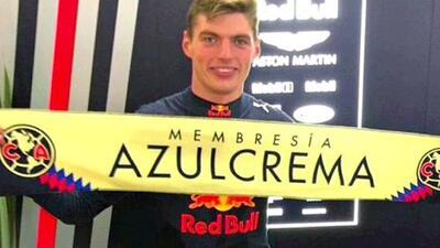 El ganador del Gran Premio de México, fiel seguidor del América