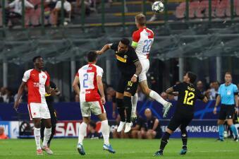 En fotos: El Inter rescata un punto de último minuto en casa