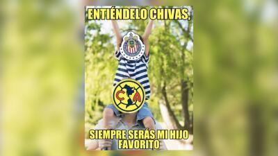 ¡Hijos eternos! Los MEMES de la derrota de Chivas de Guadalajara contra el América